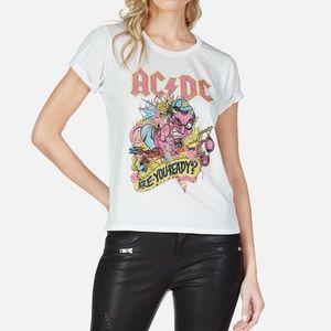 Lauren Moshi AC DC Tee Shirt